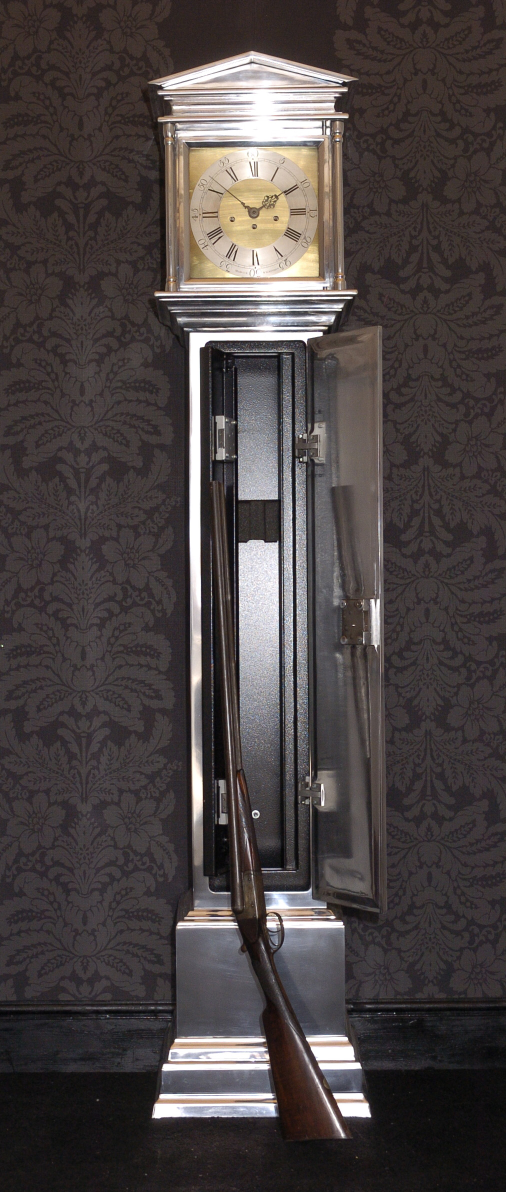 Gun Cabinet Clock Safe Marcus Wilkinson