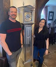 Lincoln Loncase clock